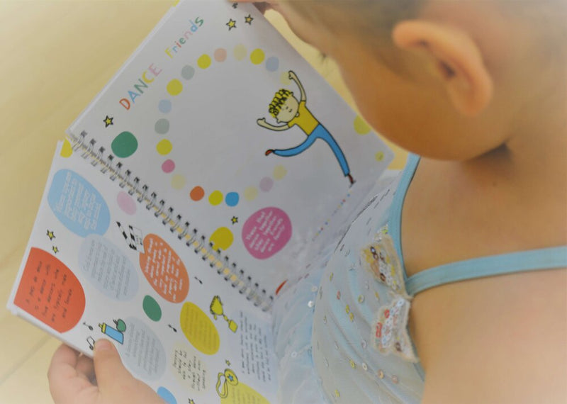 Dance Diary, Dance Journal for Kids by Day Dot Dance