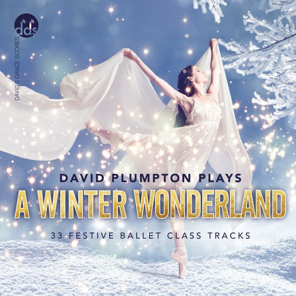 David Plumpton Plays A Winter Wonderland CD Ballet Class Music CDs
