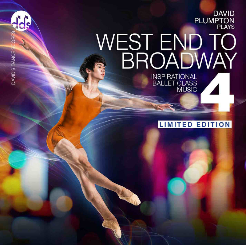 West End To Broadway 4 CD by David Plumpton Westend Four Ballet Music CDs
