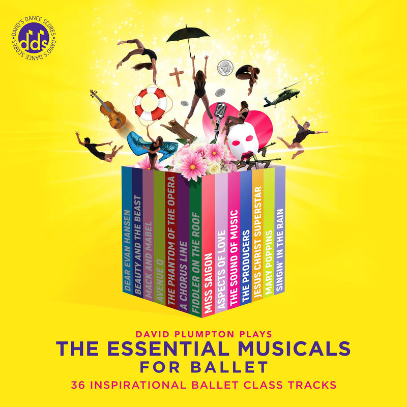 The Essential Musicals For Ballet CD By David Plumpton