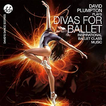 Divas For Ballet CD by David Plumpton Ballet Class Music CDs