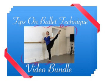 Complete Video Bundle - Tips On Ballet Technique 19 videos for £64.99