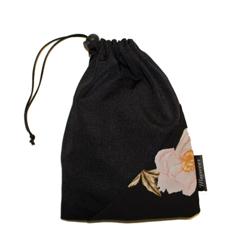 Floral Ballet Skirt Bag By Maewear Black Lilly