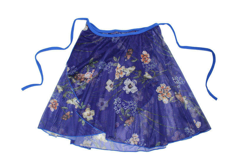Floral Ballet Wrap Skirt By Tendu Raymonda