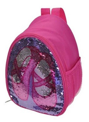 Girls Ballet Bag, Ballet Backpack By Capezio With Reversible Sequins