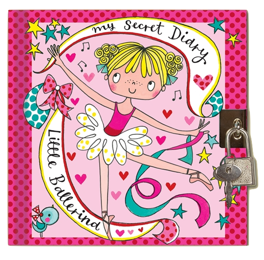 little ballerina secret diary by rachel ellen ballet diary gifts for girls