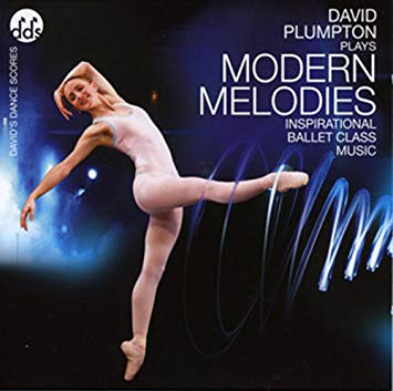 Modern Melodies Ballet Class Music CD by David Plumpton