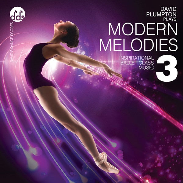 Modern Melodies 3 CD Ballet Class CDs by David Plumpton