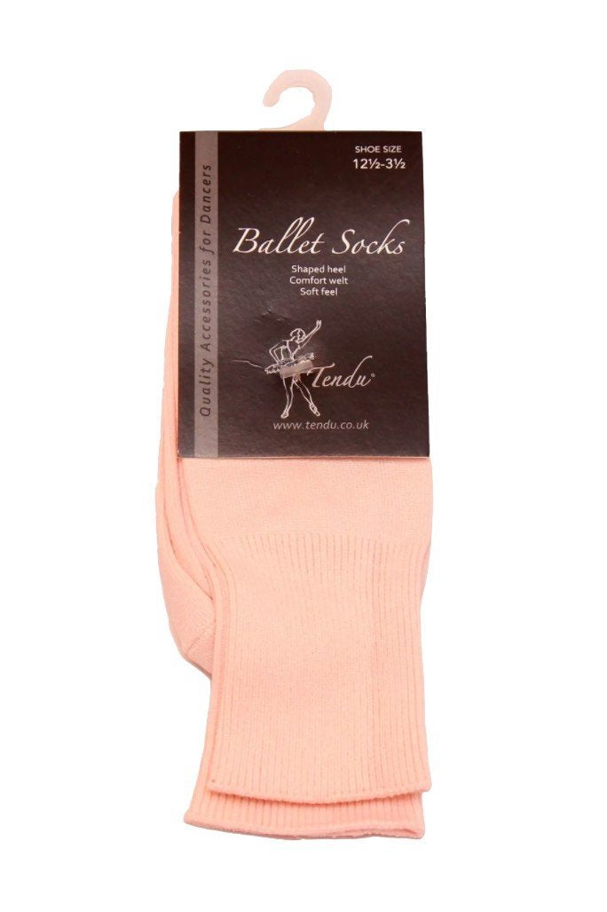 Pink Ballet Socks Tendu