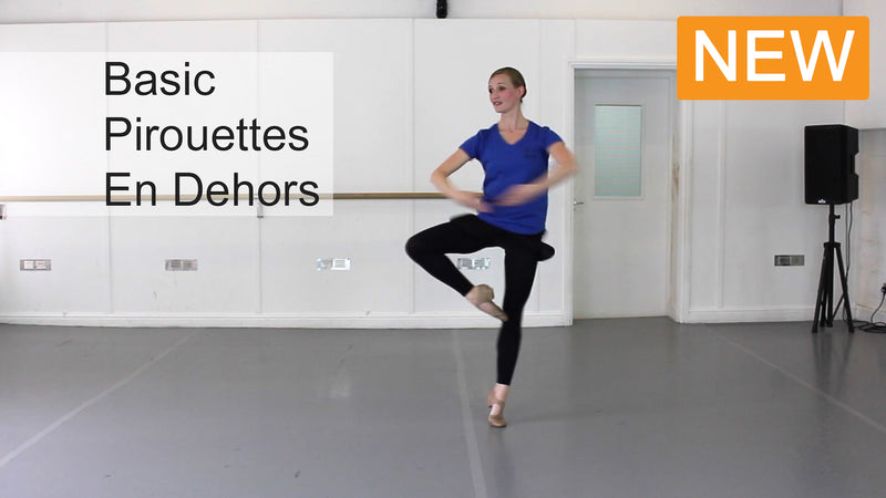 Ballet Video Download: Pirouettes En Dehors Tips On Ballet Technique Video