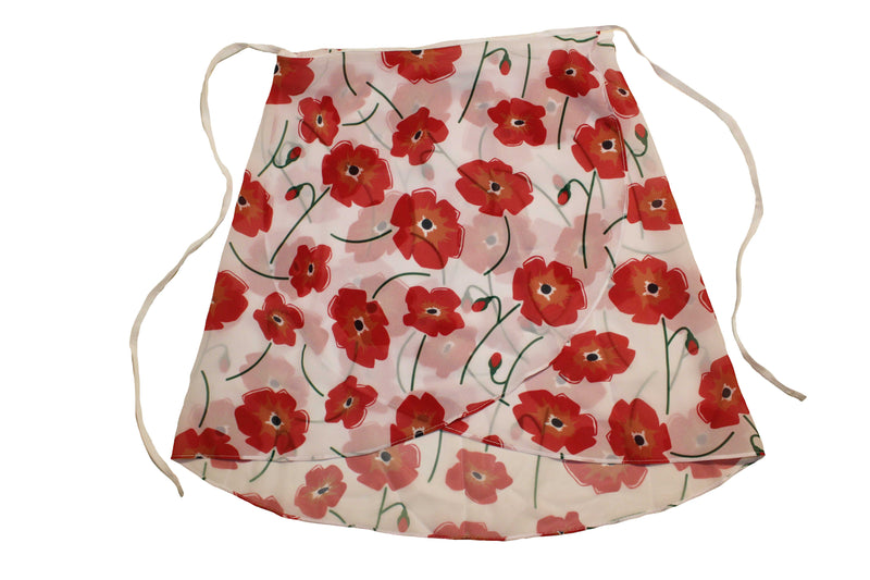 Poppy Maewear Ballet Skirt - floral classical ballet wrap over skirt