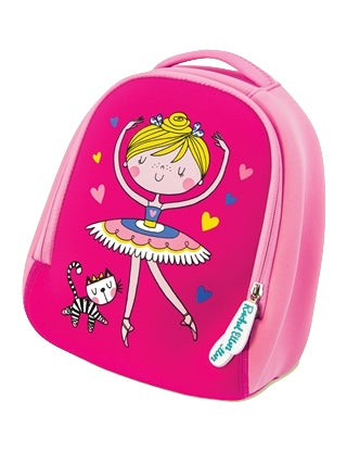Ballerina Backpack Dance Bag For Girls by Rachel Ellen