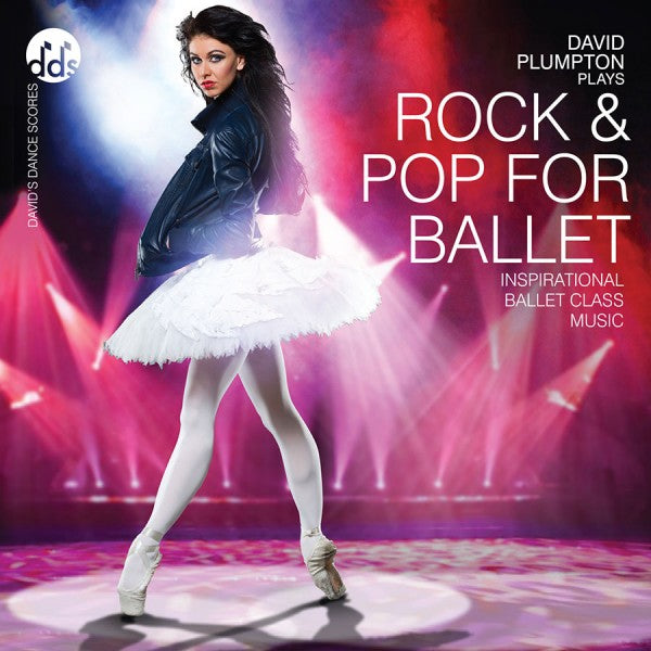 Rock and Pop For Ballet CD by David Plumpton Ballet Class Music CDs