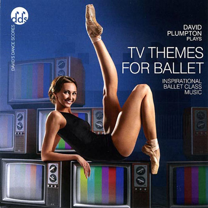 TV Themes For Ballet CD by David Plumpton Ballet Class Music CDs T.V