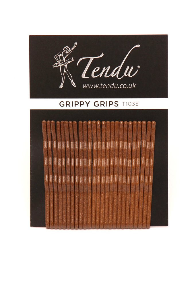 'Grippy Grips' Hairgrips by Tendu