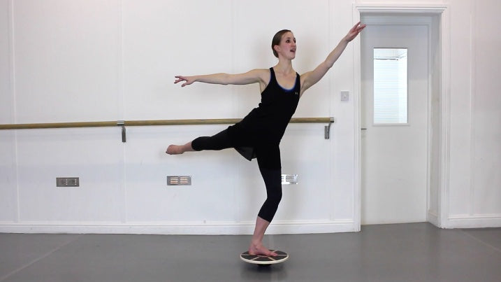 Tendu Wobble Board Balance Board For Dancers.