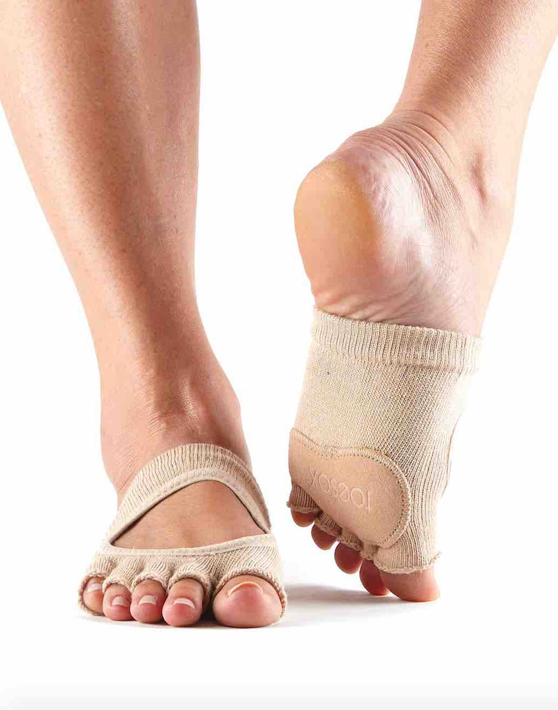 Toe Sox Half Sole Foot Thongs At PDE Dance Supplies Online Dance Shop.