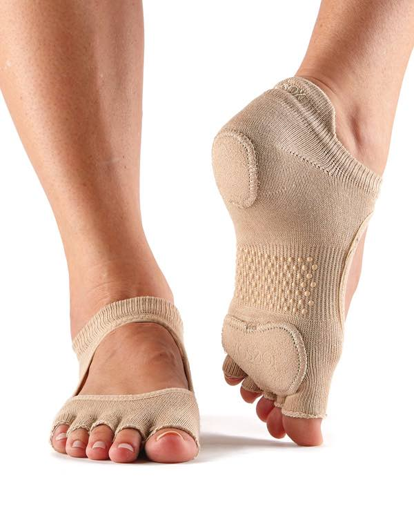 Toe Sox Prima Bellarina Foot Thongs by toesox PDE Dance Supplies Online Dance Shop.