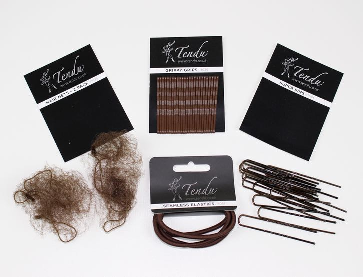 Ballet BUNdle - Ballet Bun Hair Accessories for dancers with brown hair