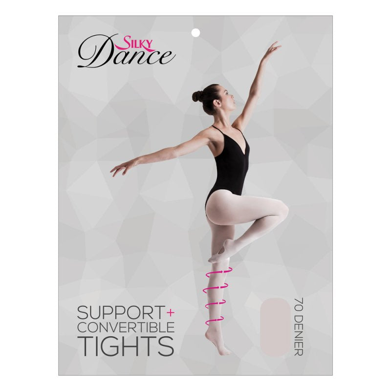 compression ballet tights support + ballet tights by silky dance