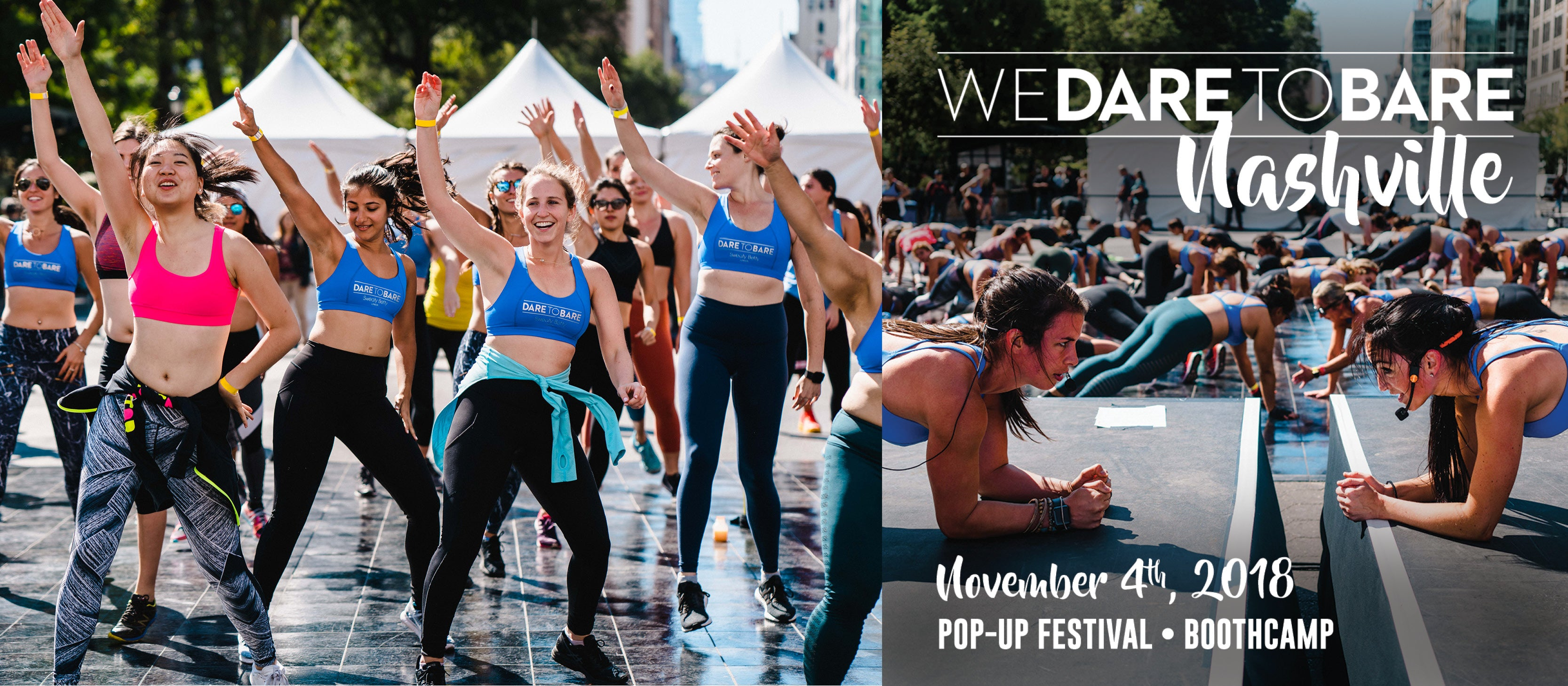 We Dare To Bare Fitness Festival for a Cause Debuts In Nashville