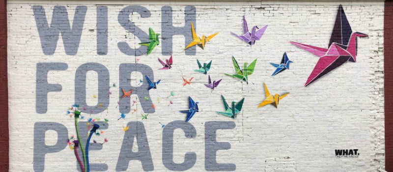 When Did Peace Become Political?: The Story Behind the Wish for Peace Mural