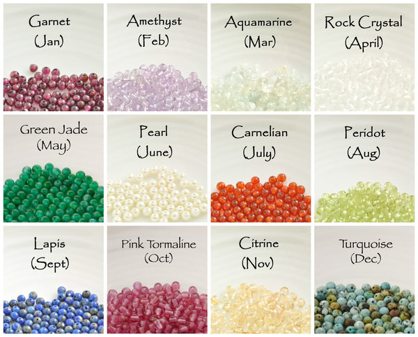 birthstone selection