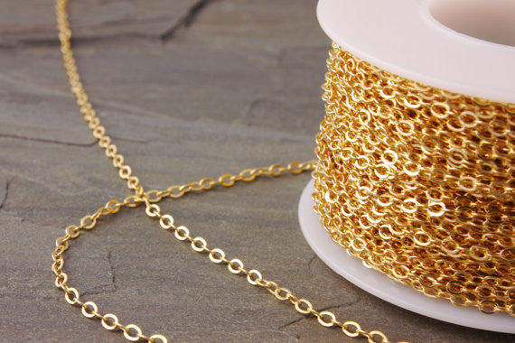 chain extension of a gold-filled chain