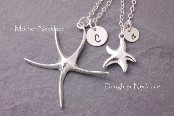 matching starfish necklaces