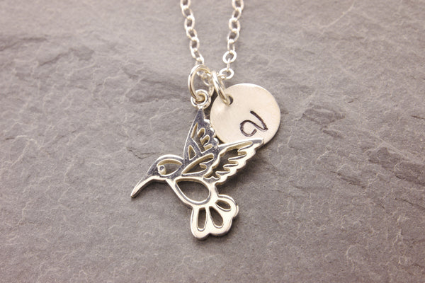 humming bird mother necklace
