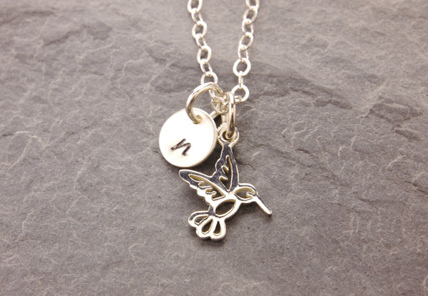 humming bird daughter necklace