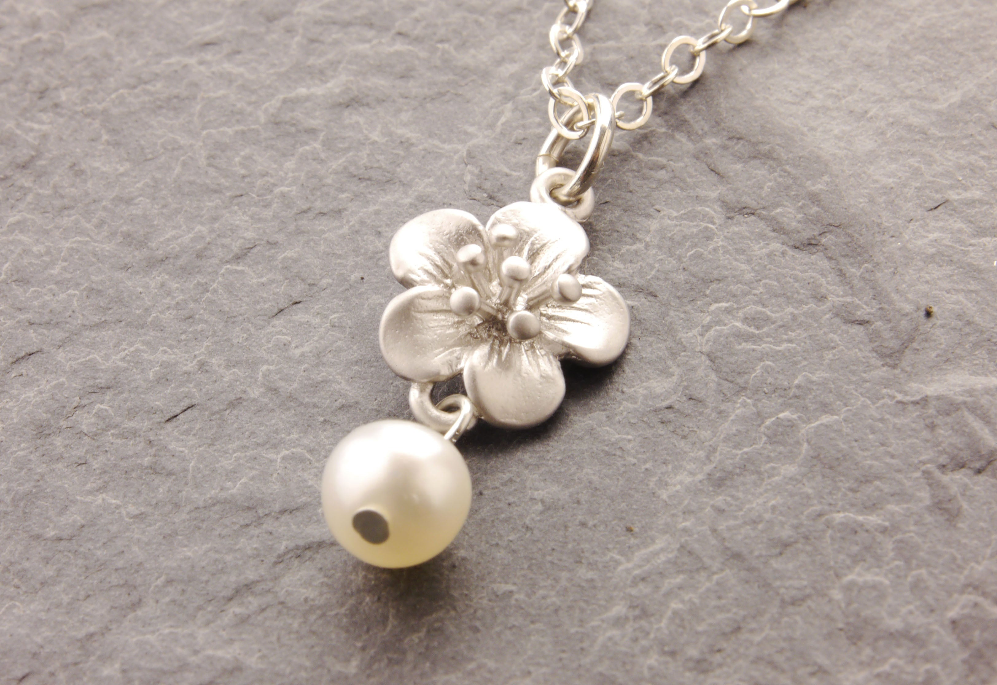 cherry blossom daughter necklace