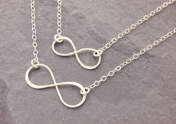 matching eternity necklaces