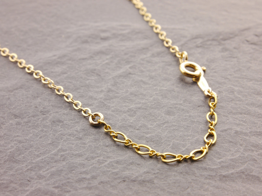 adjustable 14k gold filled chain