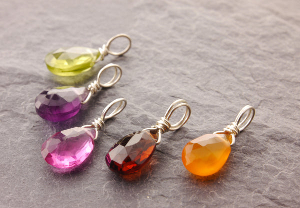 add on birthstone charms