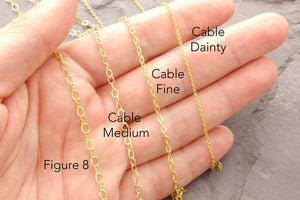 chain thickness comparison