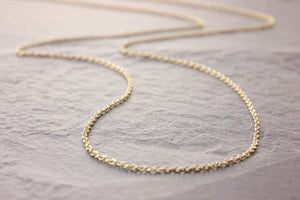 gold delicate chain