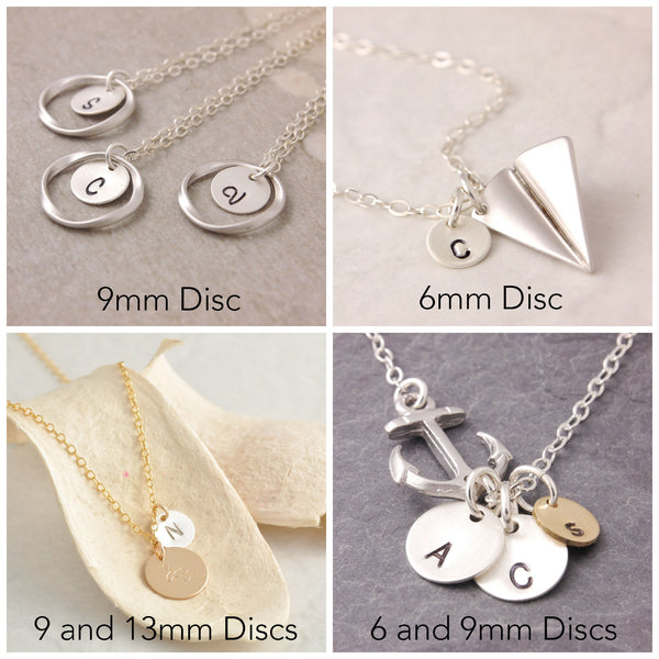 examples of add-on charms on jewelry