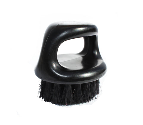 Black Firm Boar Bristle Brush