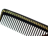 Gold Trim Styling Comb w/ Ruler