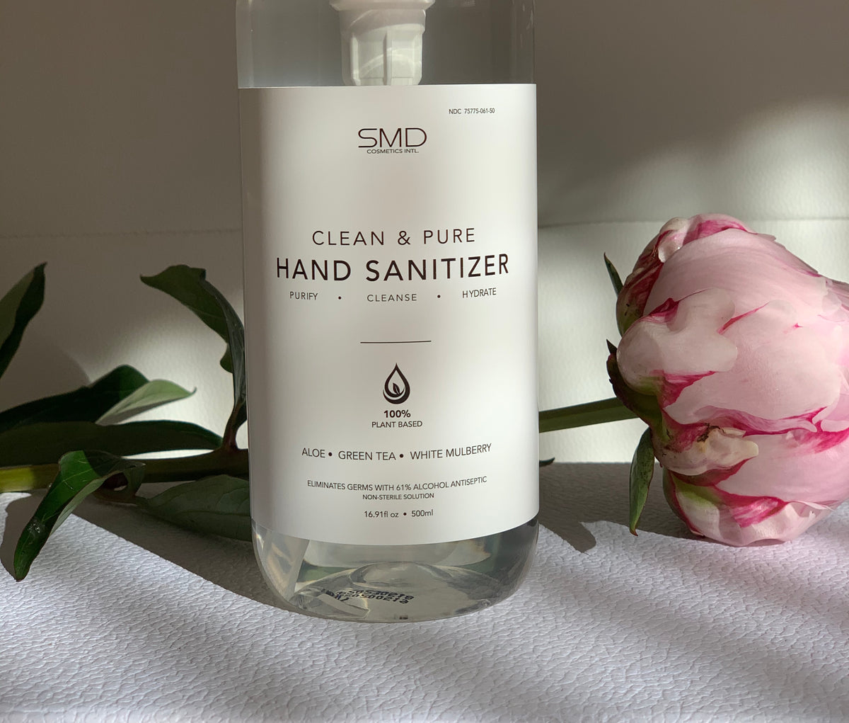 SMD Cosmetics' Clean and Pure Hand Sanitizer