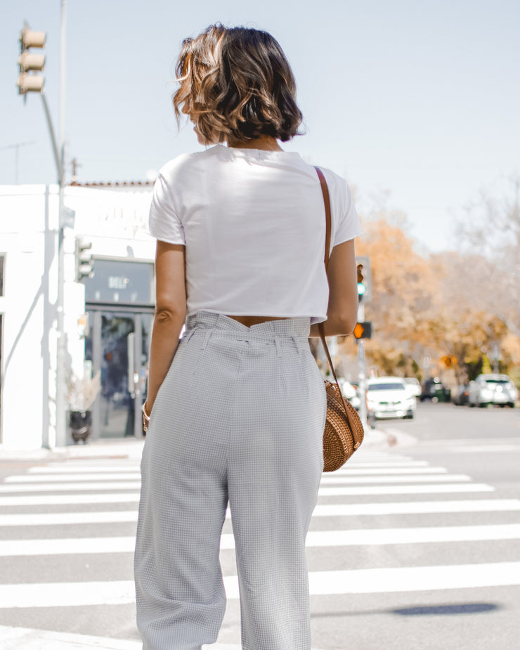 Carrera Paper bag trousers