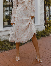 Reservations For Two Floral Maxi Dress