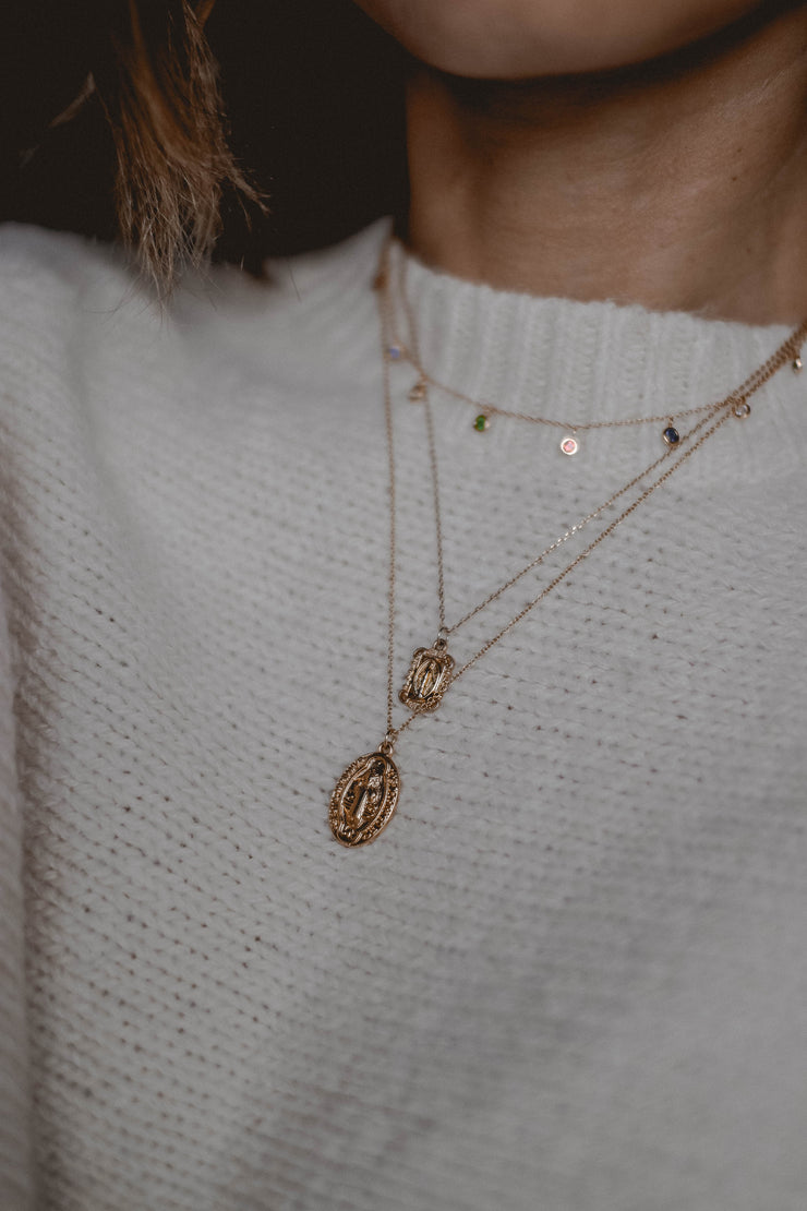 Most Valuable Layer pendant necklace