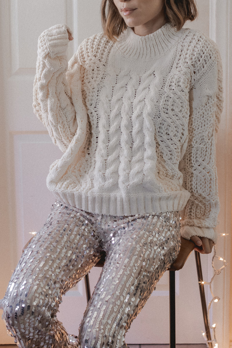 Kerri Cable knit sweater