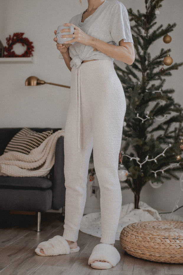 Route to cozy sweater pants