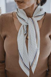 Dance of the dots scarf