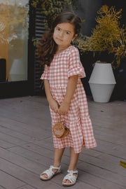 Picnic Plaid Ruffle Dress