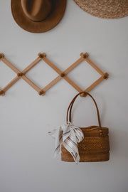 Le Weekend Handwoven Rattan Bag
