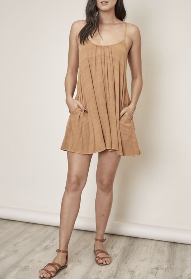 In The Swing Of Things shift mini dress